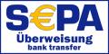 SEPA-Überweisung - Vorkasse ist eine sehr beliebte und bequeme Bezahlmethode für deine Stammkunden.